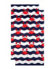 Dohler Multi Crabs Terry Velour Beach Towel~3030873742