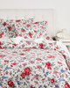 Whit & Alex Red Floral Duvet Set~3030713348