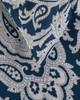 Whit & Alex Blue Paisley Duvet Set~3030683646