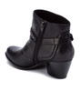 BareTraps Rosea short ankle bootie- Black~BT25096