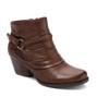 BareTraps Rosea short ankle bootie- Brush Brown~BT25181