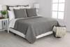 Design Source Granite Dark Gray Quilt Set ~QD 7923