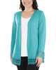 Open Front Lace Trim Cardigan~Jade*MHAR0251