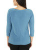 3/4 Sleeve Twist and Tie Front Top~Tealocean*MITU6892