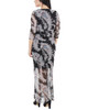 Floral Double Slit Maxi Dress~Navy Penascoflor*MMED0195