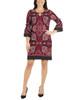 Petite Bell Sleeve Bodycon Dress~Red Carolana*YITD3226