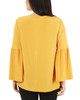 Long Sleeve Metal Ring Top~Golden Yellow*MITU6820