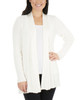 Long Sleeve Open Front Textured Cardigan~Innocence*MSVR1156