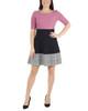 Petite Elbow Sleeve Colorblock Dress~Isadora*PSOD0240