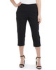 Partial Stack Waist Capri Pants~Jet Black*MRNL0256