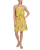 Petite Allover Pleated Popover Dress~Lemon Dovegarden*PCCD0340