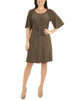 Raglan Elbow Sleeve Dress~Mauve Essentia*MITD3675