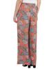 Elastic Waist Tassel Tie Palazzo Pants~Navy Flowerclub*MDOP0138