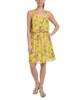 Petite Allover Pleated Popover Dress~Onyx Polkaspot*PCCD0340