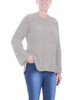 Cuffed Long Sleeve Hi Lo Chenille Pullover~Peachy Keen*MSVU1472