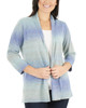 Petite 3/4 Sleeve Ombre Open Front Cardigan~Reiss*PSVR1190