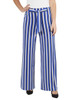 Striped Tie Front Pants~Royal Skystripe*MITP0706