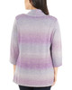 Petite 3/4 Sleeve Ombre Open Front Cardigan~Tanya*PSVR1190