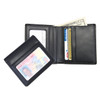 ROYCE Men's Double ID Bifold Wallet in Genuine Leather