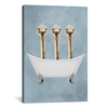 iCanvas ''Ostriches In Bathtub'' by Coco de Paris Gallery-Wrapped Canvas Print~COC172-1PC3