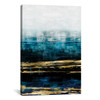 iCanvas ''Aqua Reflections With Gold'' by Allie Corbin Gallery-Wrapped Canvas Print~CRB4-1PC3