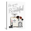 iCanvas ''Be Your Own Kind Of Beauty Silver Makeup'' by Amanda Greenwood Gallery-Wrapped Canvas Print~GRE94-1PC3