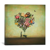 iCanvas ''Big Heart Botany'' by Duy Huynh Gallery-Wrapped Canvas Print~ICS263-1PC3