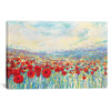 iCanvas ''Poppies Of Oz'' by Iris Scott Gallery-Wrapped Canvas Print~IRS144-1PC3