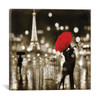 iCanvas ''A Paris Kiss'' by Kate Carrigan Gallery-Wrapped Canvas Print~KAC1-1PC3
