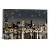iCanvas ''Chicago Nights I'' by Kate Carrigan Gallery-Wrapped Canvas Print~KAC7-1PC3