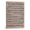 iCanvas ''Modern Art - Sheet Music Ode to Joy'' by 5by5collective Gallery-Wrapped Canvas Print~MA400-1PC3