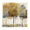 iCanvas ''Metallic Forest I'' by Nan Gallery-Wrapped Canvas Print~NAN6-1PC3