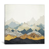 iCanvas ''Distant Peaks'' by SpaceFrog Designs Gallery-Wrapped Canvas Print~SFD35-1PC3