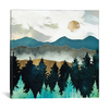 iCanvas ''Forest Mist'' by SpaceFrog Designs Gallery-Wrapped Canvas Print~SFD43-1PC3