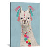 iCanvas ''Adorned Llama II'' by Victoria Borges Gallery-Wrapped Canvas Print~VBO10-1PC3