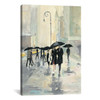 iCanvas ''City in the Rain'' by Avery Tillmon Gallery-Wrapped Canvas Print~WAC108-1PC3