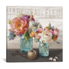 iCanvas ''French Cottage Bouquet III'' by Danhui Nai Gallery-Wrapped Canvas Print~WAC3840-1PC3