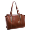 McKlein ALDORA Ladies' Leather Tote with Tablet Pocket~9750