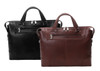 "McKlein ARCADIA 17"" Leather Slim Laptop Briefcase~8876"