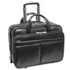 "McKlein BOWERY 15"" Leather Wheeled Laptop Briefcase~87855"