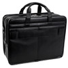 "McKlein CLINTON 17"" Leather Patented Detachable Wheeled Laptop Briefcase~88445"