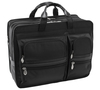 "McKlein CLINTON 17"" Nylon Patented Detachable Wheeled Laptop Briefcase~58445"