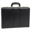"""McKlein COUGHLIN Leather 4.5"""" Expandable Attaché Briefcase~8046"""