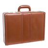 "McKlein COUGHLIN Leather 4.5"" Expandable Attaché Briefcase~8046"