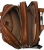 "McKlein DAMEN 17"" Leather Patented Detachable Wheeled Laptop Briefcase~8071"