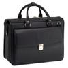 """McKlein GRESHAM 15"""" Leather Litigator Laptop Briefcase~1597"""