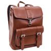 "McKlein HAGEN 15"" Leather Laptop Backpack~8802"