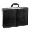 "McKlein HARPER Leather 4.5"" Expandable Attaché Briefcase~8047"