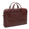 "McKlein HARPSWELL 17"" Leather Dual Compartment Laptop Briefcase~8856"