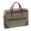 """McKlein HARPSWELL 17"""" Nylon Dual Compartment Laptop Briefcase~1856"""